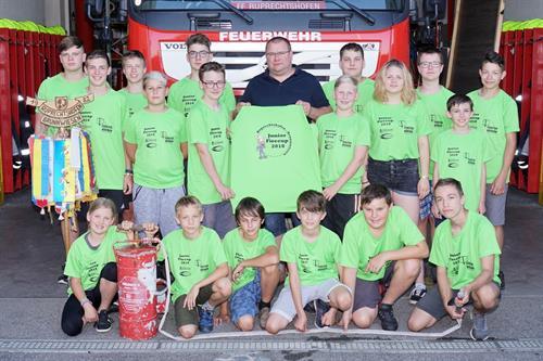 FF_Jugend_JuniorFirecup2018_Teilnehmer mit neuen TShirts